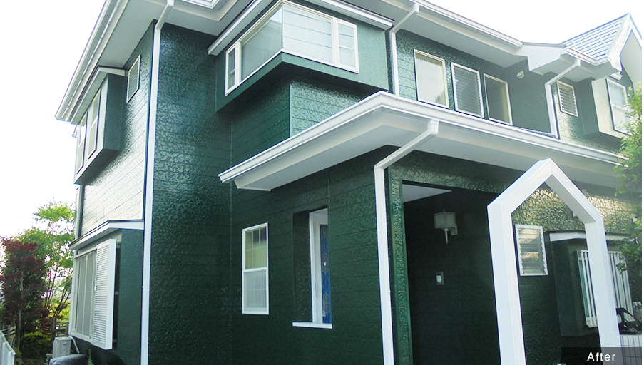 外壁塗り替え 施工後